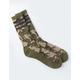 ADIDAS 3 Stripes Roller Camo Mens Crew Socks