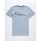 VOLCOM Fast Script Blue Boys T-Shirt