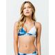 BYRDS OF PARADISE Tie Dye Triangle Bikini Top