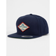 SALTY CREW Four Corners Navy Mens Snapback Hat