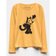 Felix The Cat Yellow Girls Tee