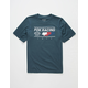 FOX Global Navy Boys T-Shirt