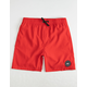 QUIKSILVER Everyday Red Boys Volley Shorts