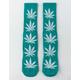 HUF Plantlife Deep Jungle Mens Crew Socks