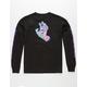 SANTA CRUZ Spill Hand Black Boys T-Shirt