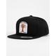 SALTY CREW Buggin Out Black Boys Snapback Hat