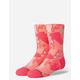 STANCE Pisa Pizza Pink Kids Crew Socks