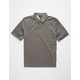VOLCOM Wowzer Charcoal Boys Polo Shirt