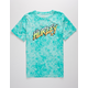 HURLEY Acid Wash Hyper Jade Boys T-Shirt