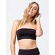 BILLABONG Sol Searcher Sunny Tube Black Bandeau Bikini Top