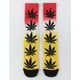 HUF Plantlife Gradient Dye Yellow Mens Crew Socks