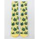 HUF Plantlife Green Buddies Mens Crew Socks