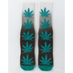 HUF Plantlife Gradient Dye Deep Jungle Mens Crew Socks