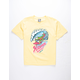 SANTA CRUZ Wave Slasher Yellow Boys T-Shirt