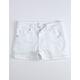 RSQ Malibu White Girls Denim Shorts