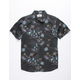 BILLABONG Sundays Floral Black Boys Shirt