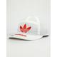 ADIDAS Originals Nylon 7-Panel White Mens Snapback Hat