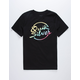 QUIKSILVER Salt Style Black Boys T-Shirt