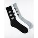 ADIDAS 3 Pack Trefoil Repeat Mens Crew Socks