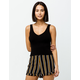 FULL TILT Essentials Black Womens Sweater Tank