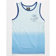 HURLEY Ombre Stripe Light Blue Boys Tank Top