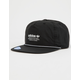 ADIDAS Originals Relaxed Decon Rope Black Mens Strapback Hat