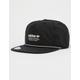 ADIDAS Originals Relaxed Decon Rope Black Mens Strapback Hat