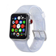 ELEMENT WORKS 38mm Clear Glitter Silicone Apple Watch Wristband