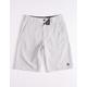 GROM Off Road Light Gray Boys Hybrid Shorts