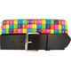 Multi Color Pyramid Belt
