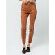 REWASH Twill Rust Womens Skinny Cargo Pants