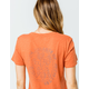 RVCA Floral Seal Womens Baby Tee