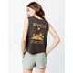 RVCA Mirage Womens Muscle Tank Top