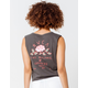 RVCA Everose Tie Front Womens Tank Top