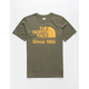 THE NORTH FACE Tri-Blend Heather Olive Boys T-Shirt
