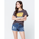 OTHERS FOLLOW Frayed Womens Ripped Denim Shorts