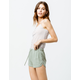 RVCA New Yume Sage Womens Dolphin Shorts