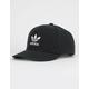 ADIDAS Originals Trefoil Black & White Mens Snapback Hat