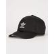 ADIDAS Originals Relaxed Modern III Black Strapback Hat