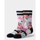 STANCE Spot Floral Kids Crew Socks