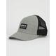 ADIDAS Originals Trefoil Heather Gray & Black Mens Trucker Hat