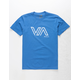RVCA Stencil VA Royal Boys T-Shirt