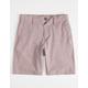 RVCA Balance Dark Violet Boys Hybrid Shorts