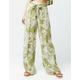 PATRONS OF PEACE Floral Womens Wide Leg Pants