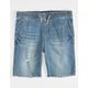 RSQ Ripped Jogger Boys Denim Shorts