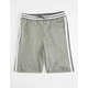 BROOKLYN CLOTH Varsity Stripe Black Boys Sweat Shorts