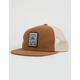 RIP CURL Never Stop Burnt Orange Mens Trucker Hat