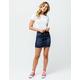 RSQ Medium Blast Denim Mini Skirt