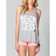 YOUNG & RECKLESS Taped Down Womens Tank