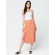 SKY AND SPARROW Ditsy Floral Midi Skirt